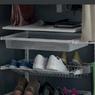 Сеточная полка для обуви двойная 603 x 406